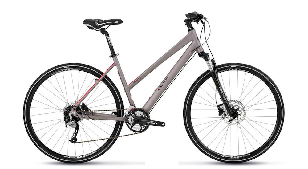 "Women's Trekking Bike : BH Silvertip Mix Pro, 28"" Wheels"